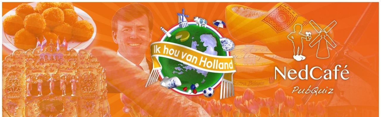 """Pubquiz """"Ik hou van Holland"""""""